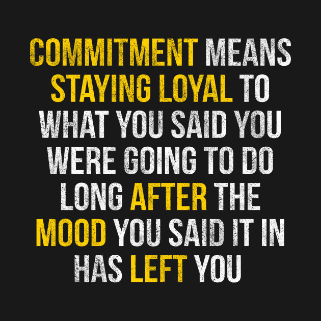 Define Commitment